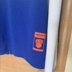 adidas Shirts - Adidas Originals New York Knicks Zip-Up Trefoil M